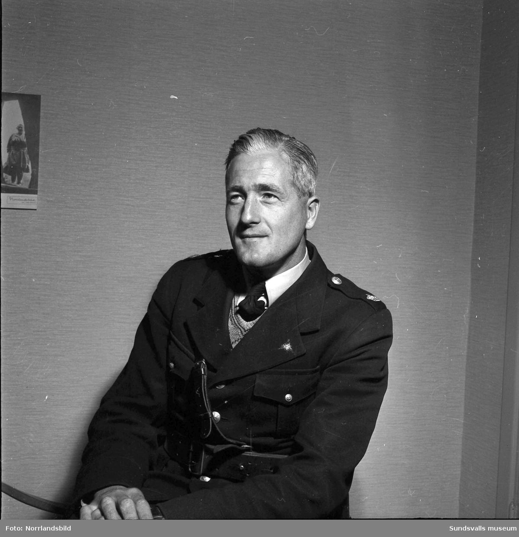 Poliskonstapel Karl Henrik Rönström, Sundsvall.