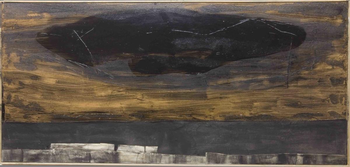 Lyngheier ved kysten [Materialbilde]