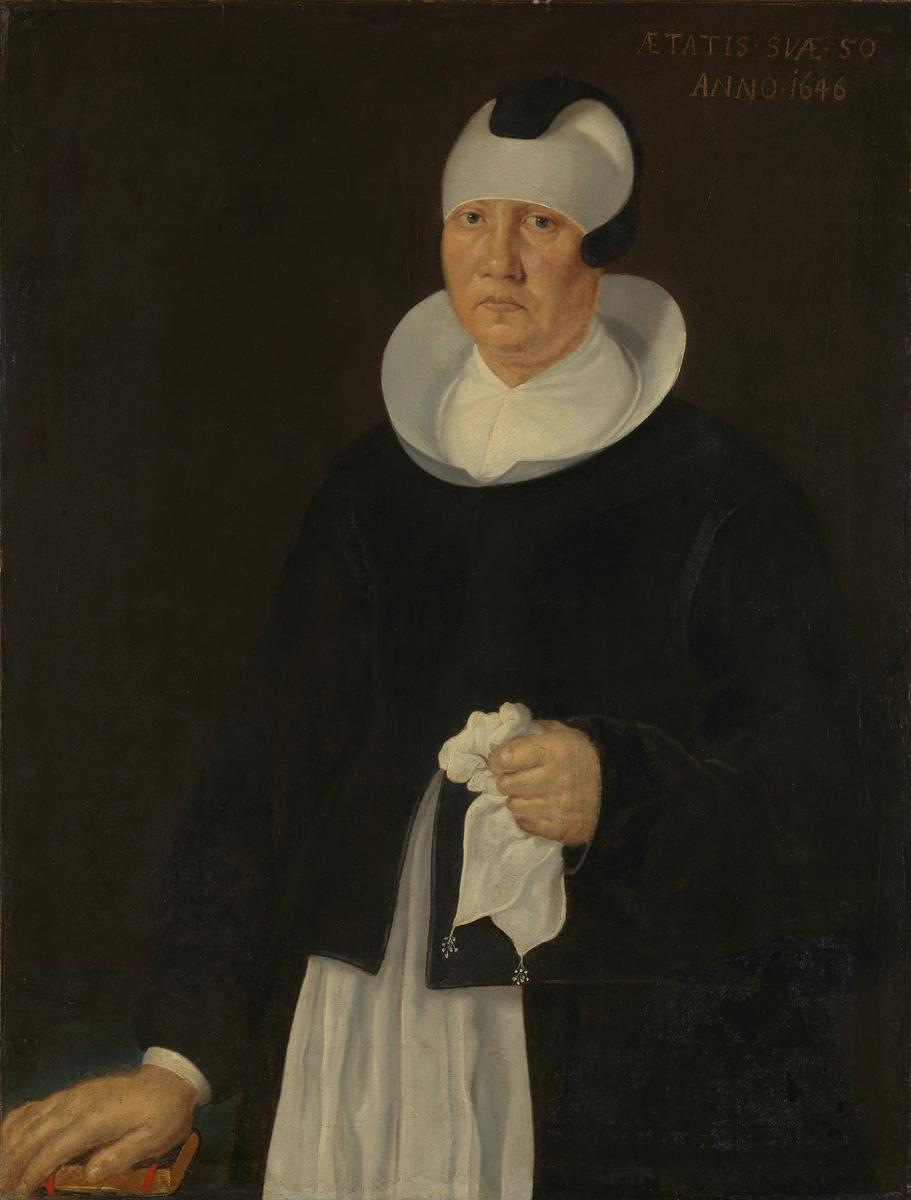 Marthe Jensdatter Ruus, Lars Ruus' 2. hustru [Maleri]