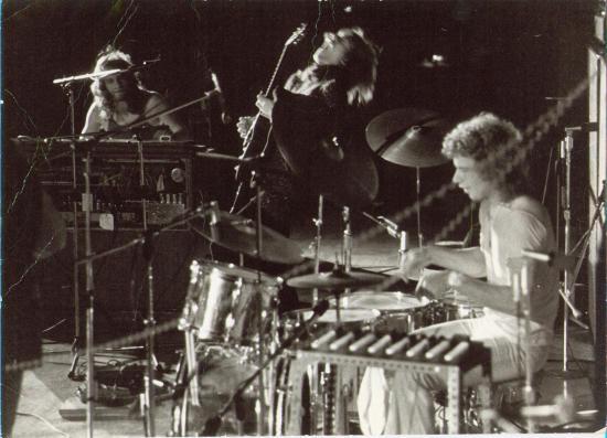 Bill Bruford med Yes, i 1971. (Foto/Photo)