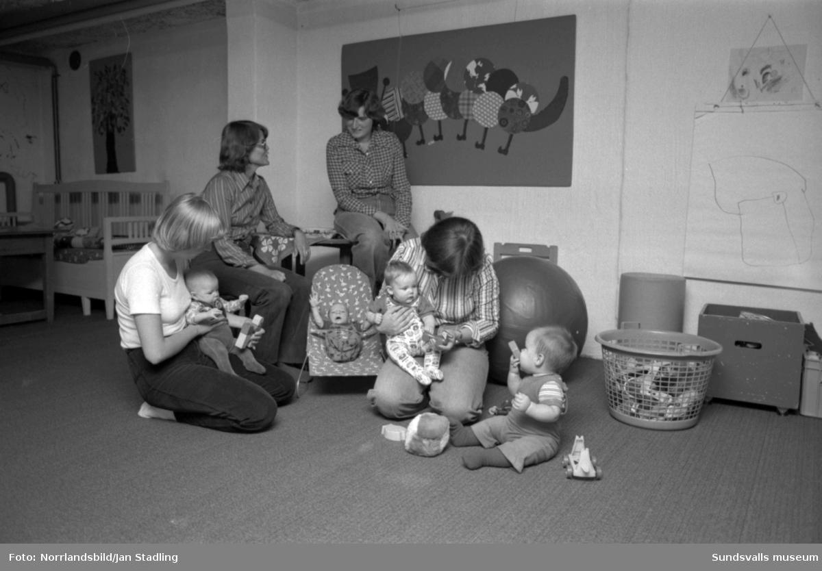 Spädbarnshemmet på Ättehögsvägen 11 i Granlo.