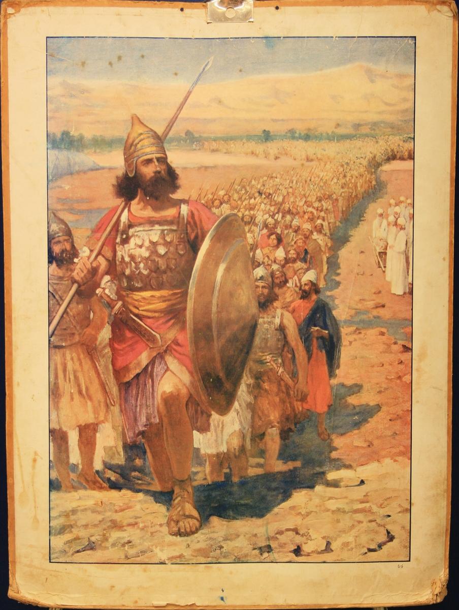 David leier hæren.