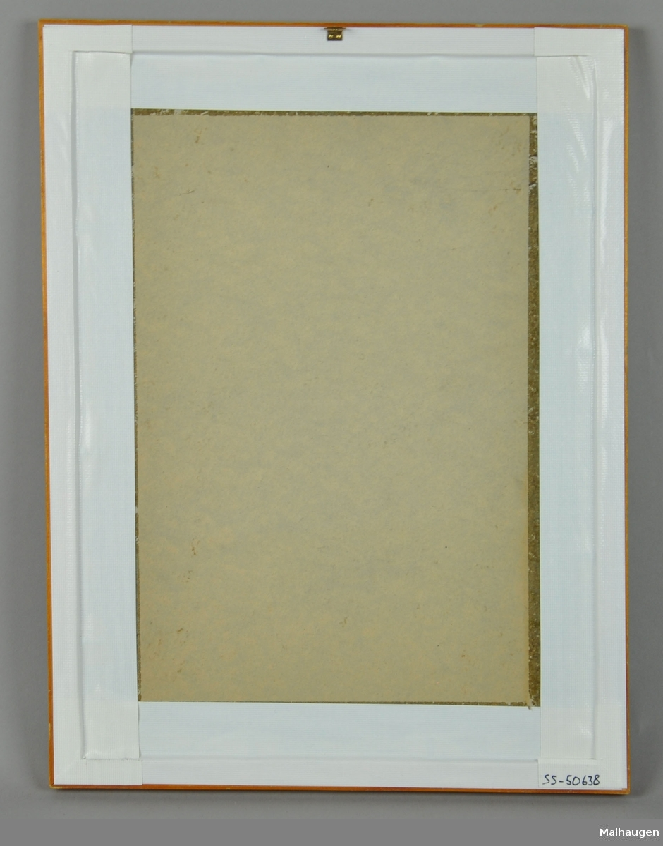 Fotografi i ramme, bilde av Sigurd Grieg.