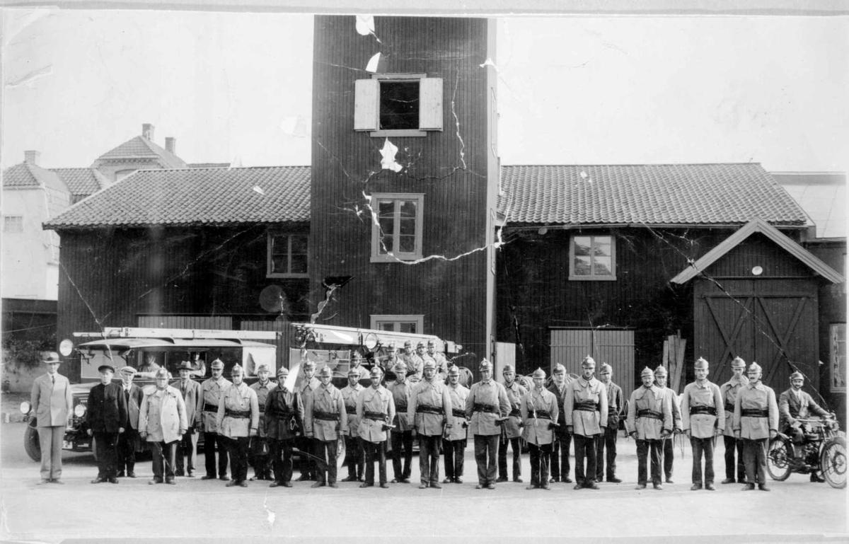Repro: Lillehammer brannkorps.