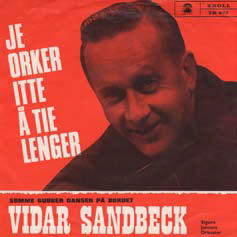 Vidar Sandbeck single nr. 20