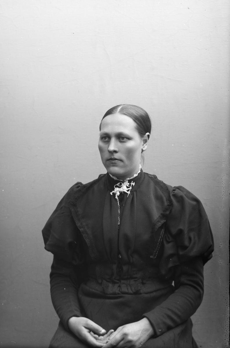 Portrett av Anna H. Bragelien, Sjoa.