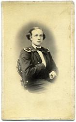 Kabinettsfotografi: baron R von Rosen