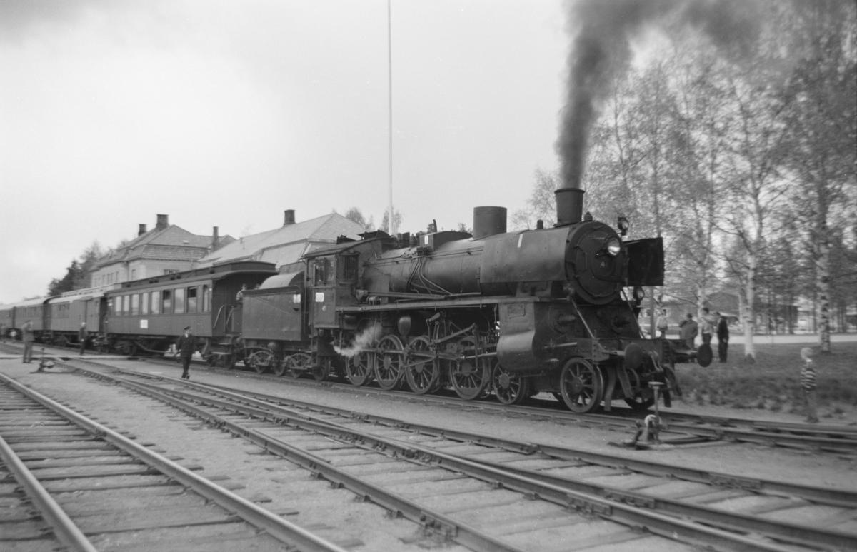 Svenska Järnvägsklubbens veterantog til Hamar og Solørbanen, reservert for medlemmer av A/L Hølandsbanen.