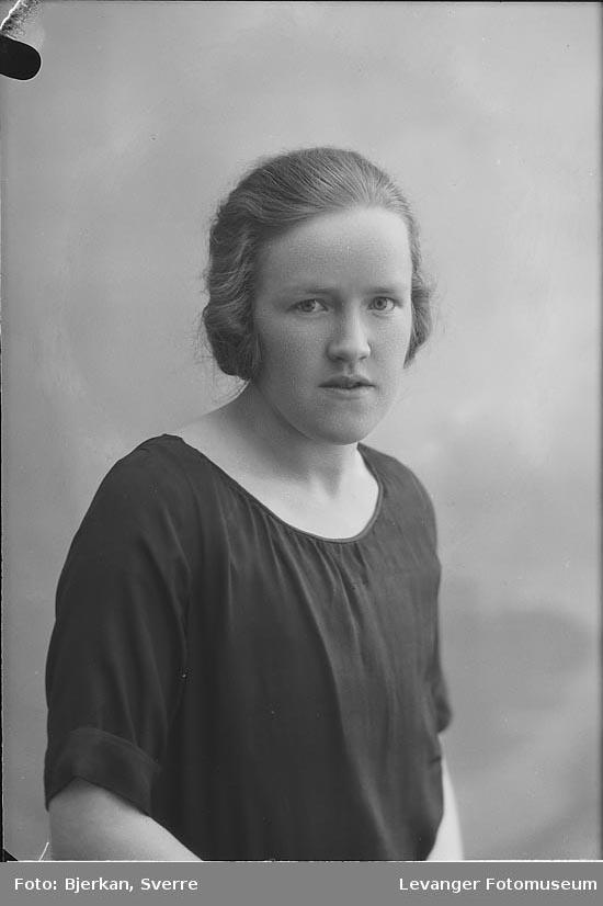 Portrett av Borghild Kolset