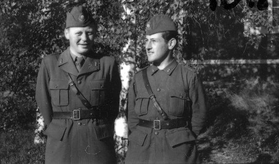 Sjöstrand, sergeant, A 6 reserv, Sandstedt, styckjunkare, A 6.
