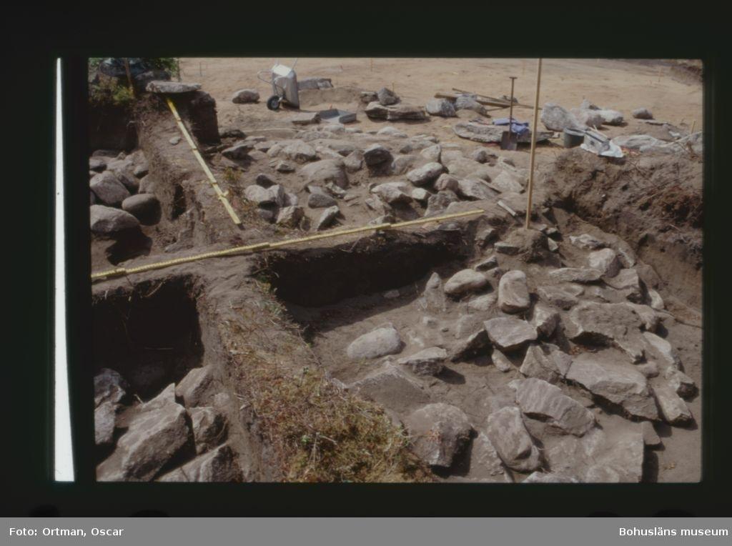Norum 140:1, kärnröset framränsat sydvästrakvadranten i förgrunden Fotograferat från söder