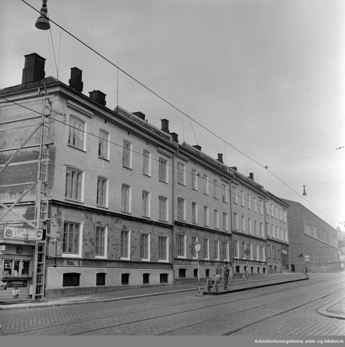 Toftes gate. Oktober 1957