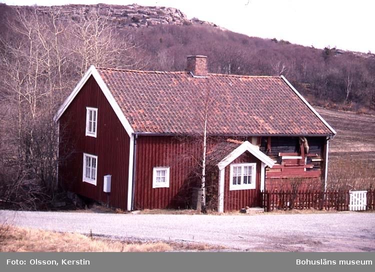"Text på kortet: ""Kleva Bro sn. April 1987""."