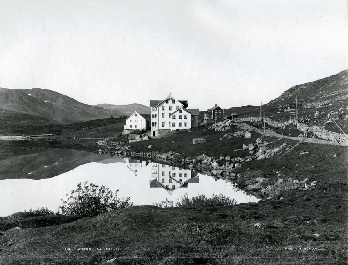 Nystøga på Filefjell, 1880-talet