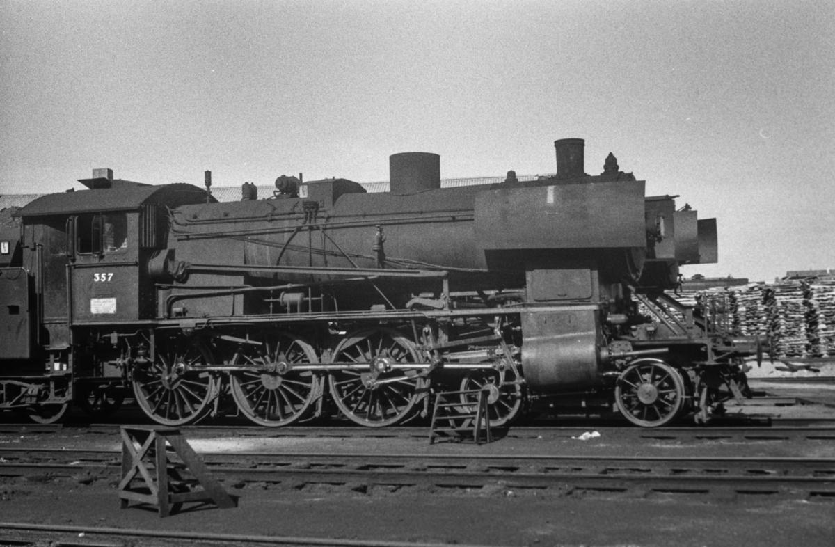 Damplokomotiv type 30b nr. 357.