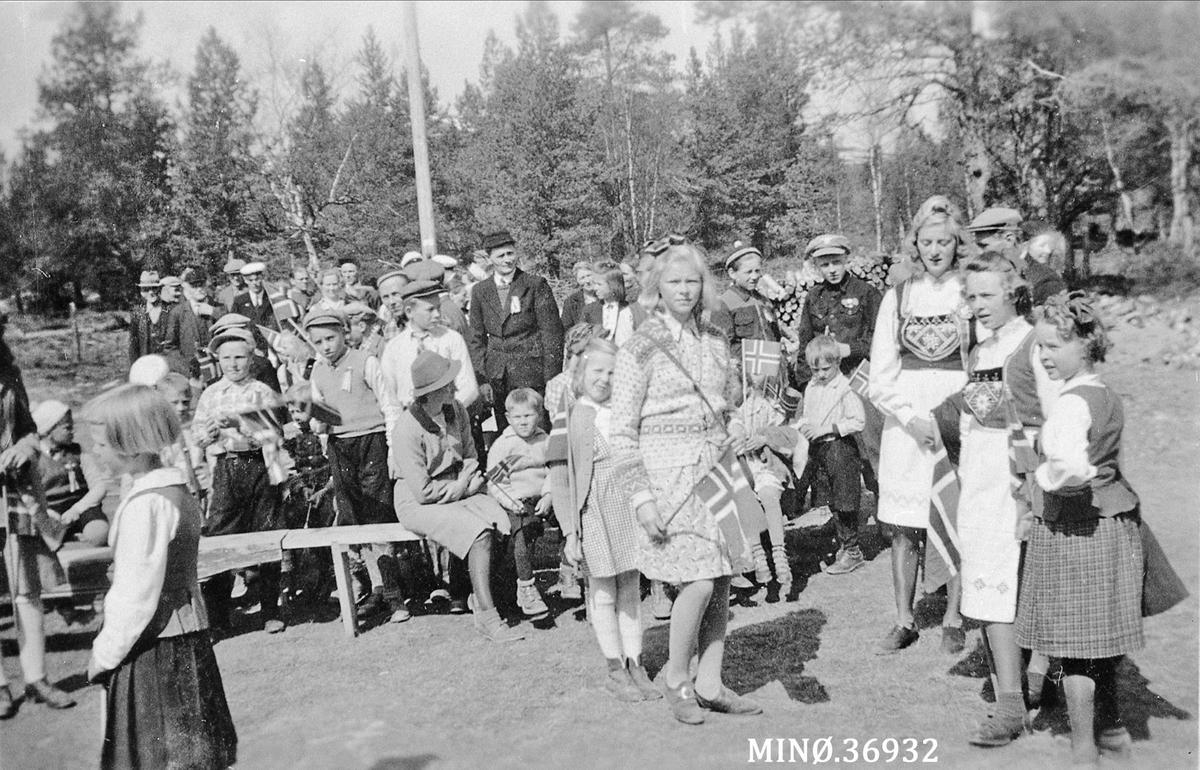17. mai fredssommeren 1945.