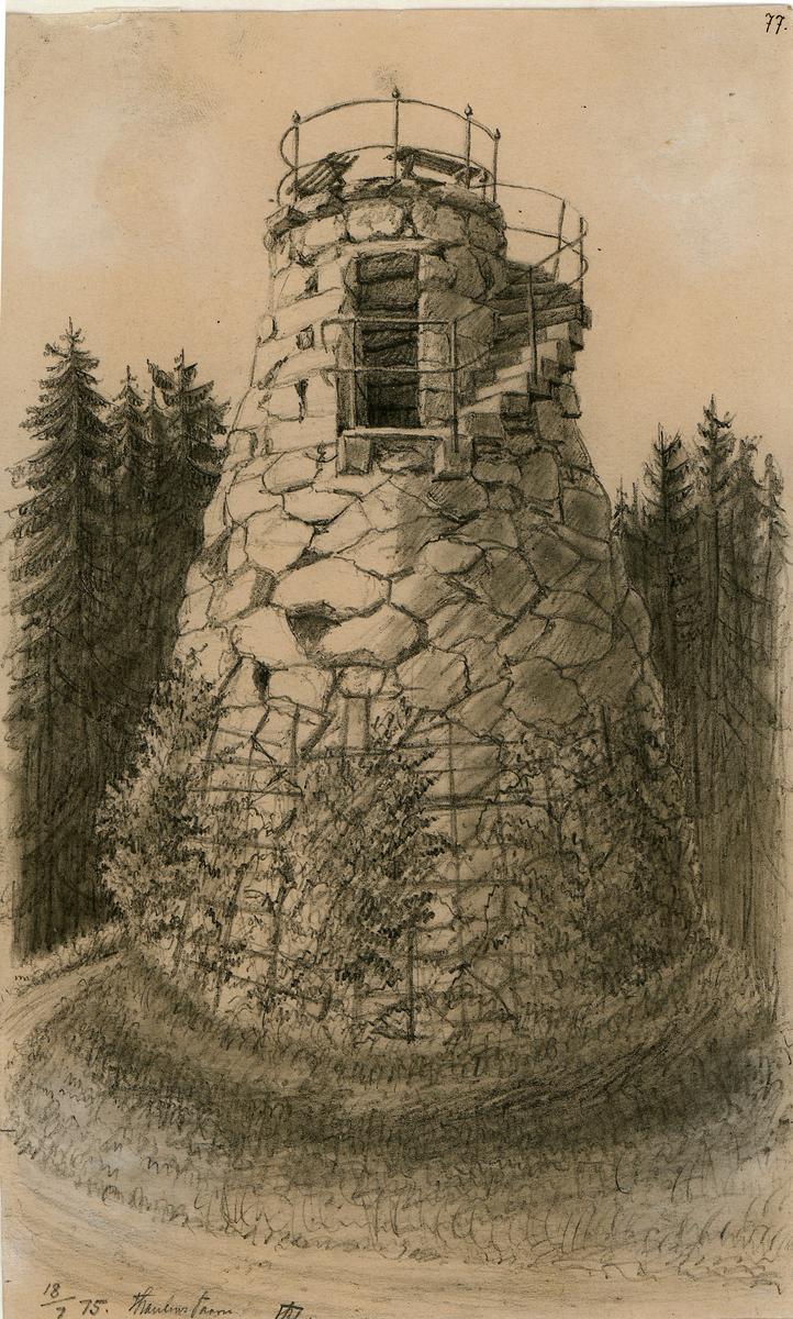 tårn, bygning, arkitektur