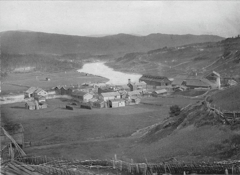 Tolga smeltehytte ca. 1870