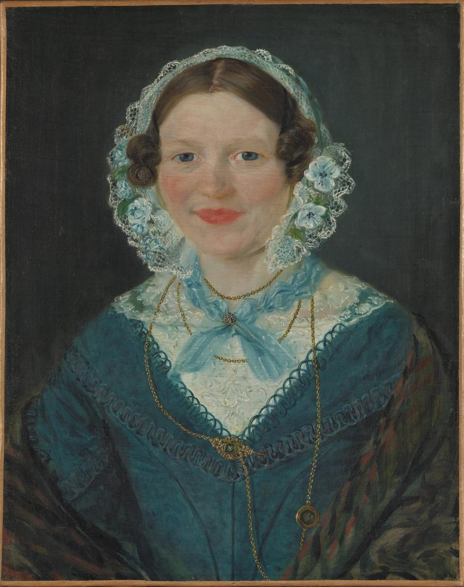 Engel Marie Delphin f. Lange [Maleri]