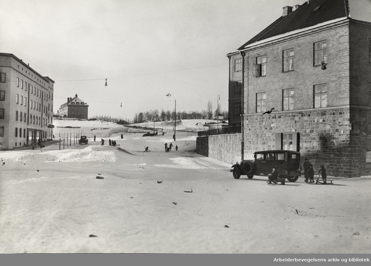 Griffenfeldts gate. 1935