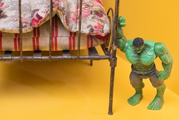 Er Hulken en dukke? (Foto/Photo)