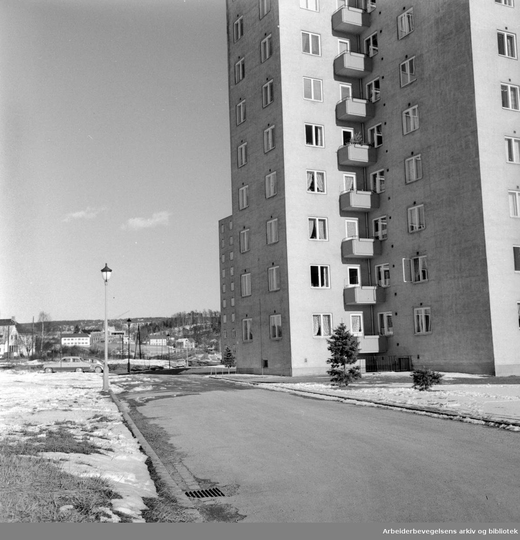 Etterstadsletta. April 1961