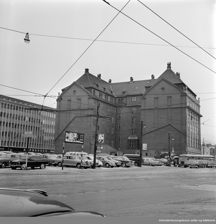 Palétomta. Januar 1962