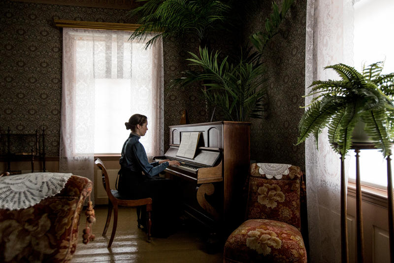 Pianospill i Hjørnestuen fra mai 2018. Foto: Jan Ove Iversen