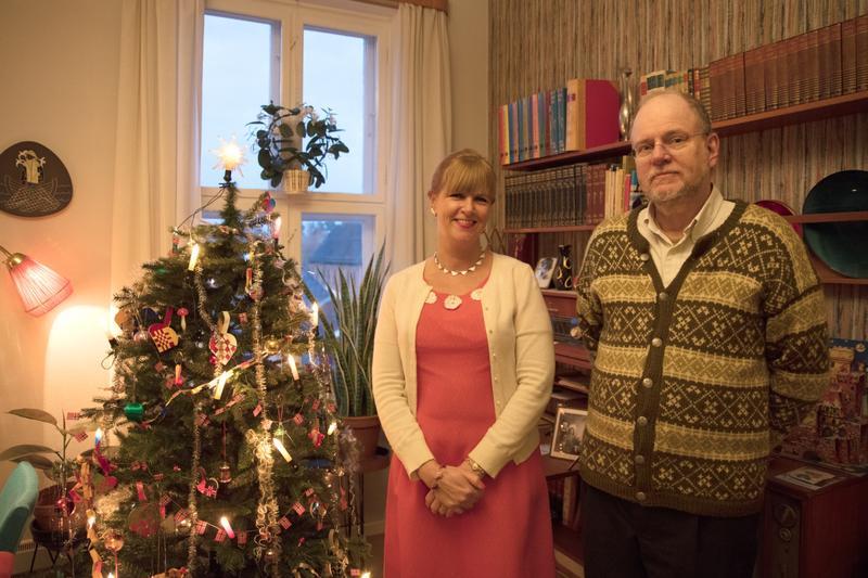 Sandvik og Bing. Julen 2017.