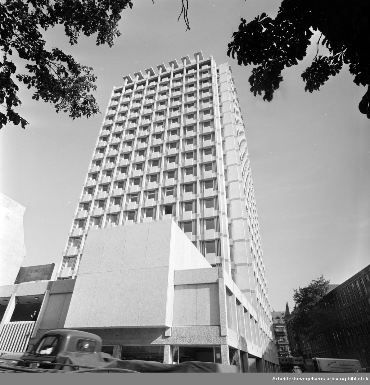 Industriens og eksportens hus. Oktober 1963