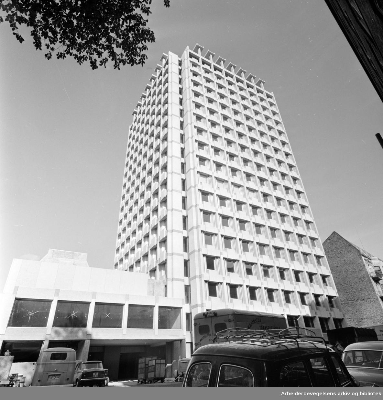 Industriens og eksportens hus. September 1964