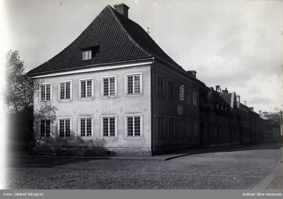 Domprostgården vid Lilla Torget i Kalmar.