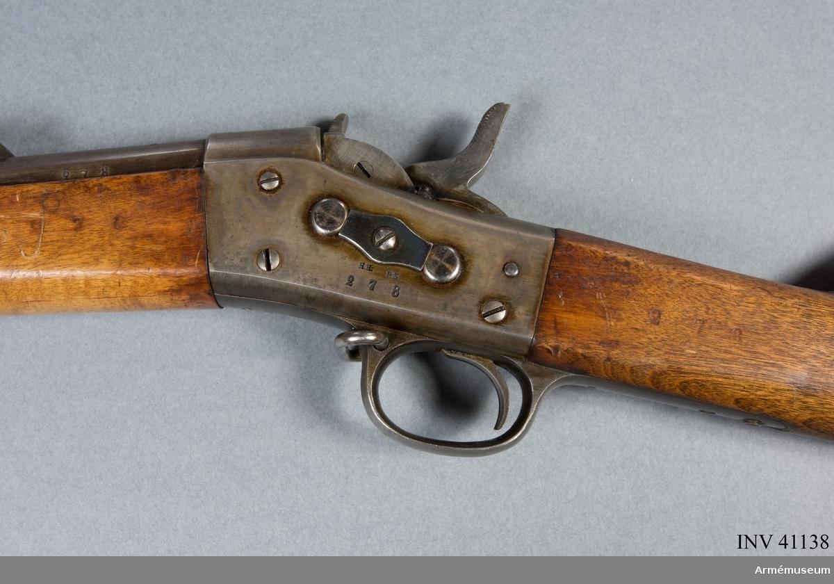 Grupp E II f. 12 mm gevär m/1867.