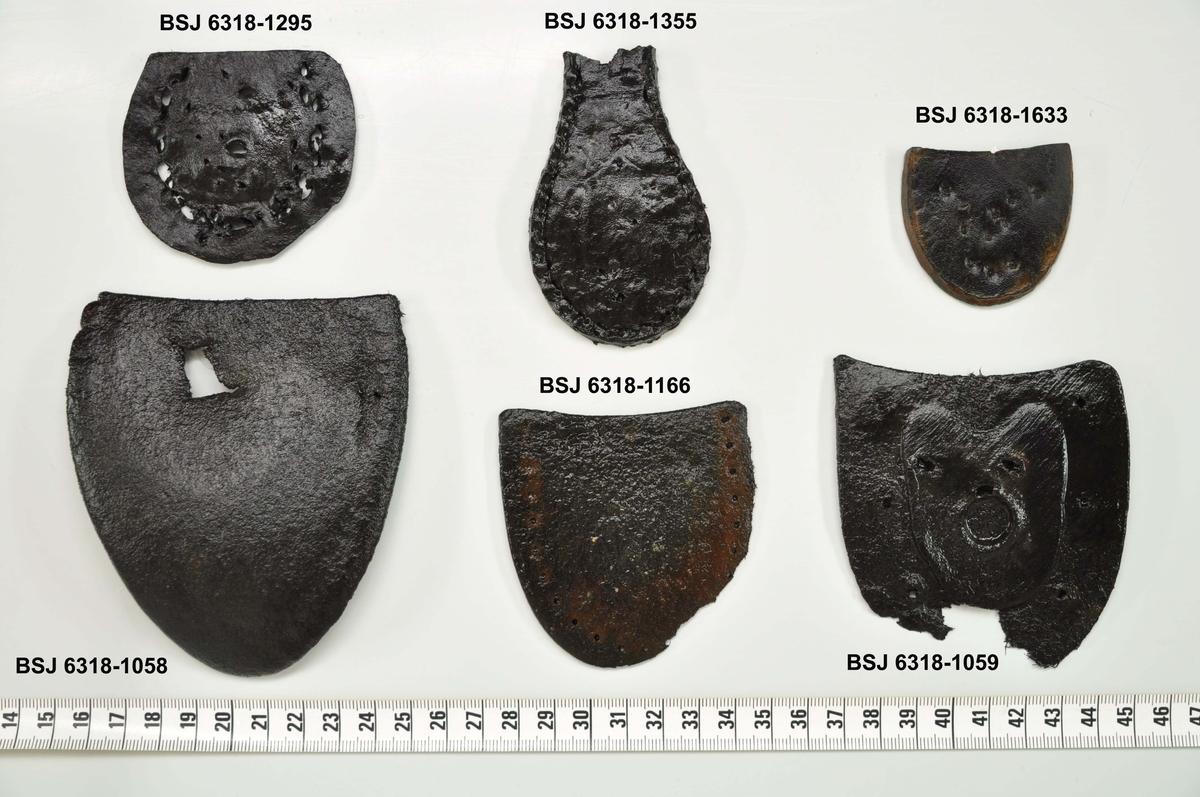 Lær:Fragment av skosåle