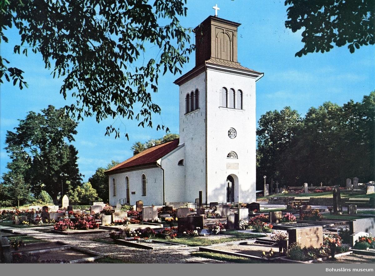 """Text till bilden:""""Herrestads kyrka""""."""