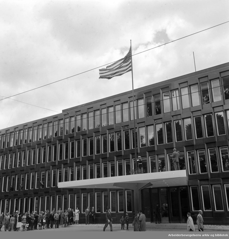 Amerikanske ambasade. Eksteriør. Juni 1959