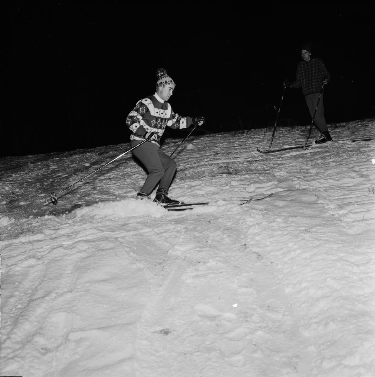 """""""Tidig skidpremiär"""", Uppsala 1962"""
