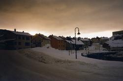 Honningsvåg. Vinterstemning i Vågen. 2002/2003.