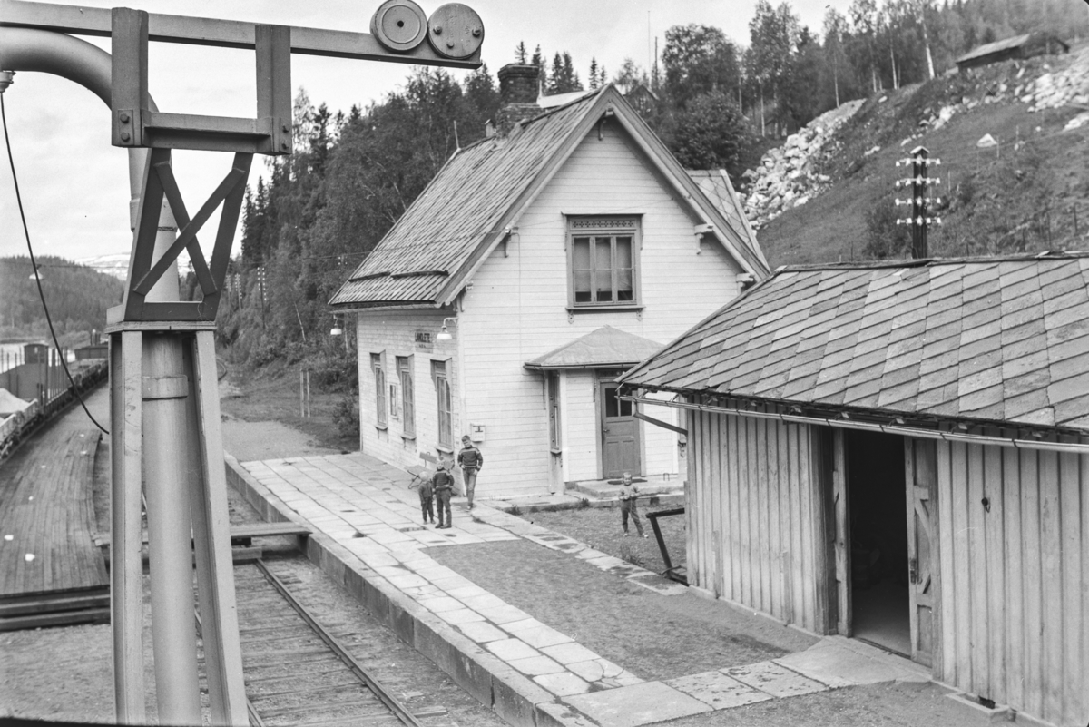 Langlete stasjon på Rørosbanen.