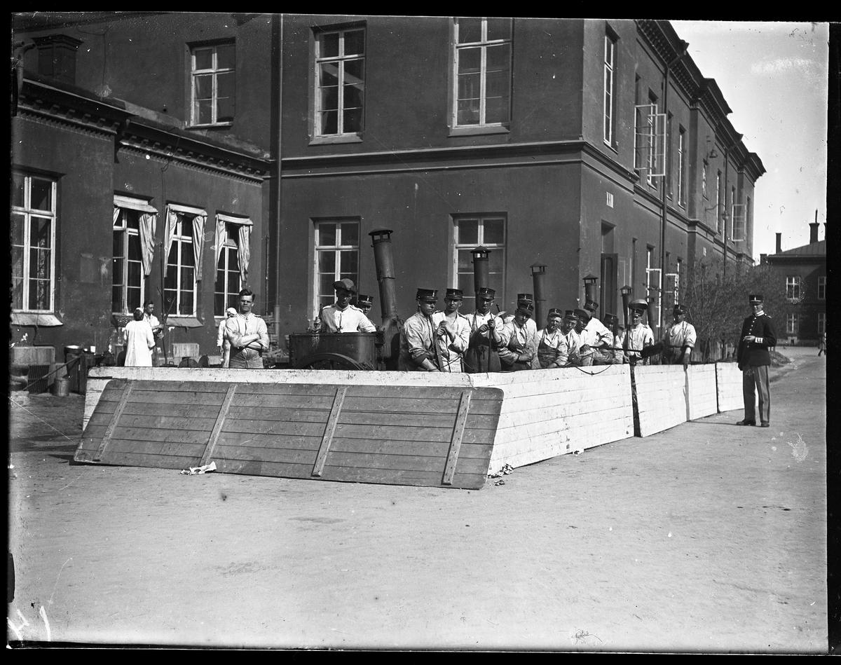 Fältköket på Svea Livgarde (I1).