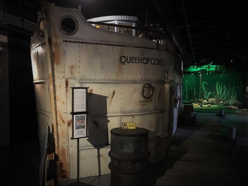 """Båten """"Queen of Congo"""" (Foto/Photo)"""