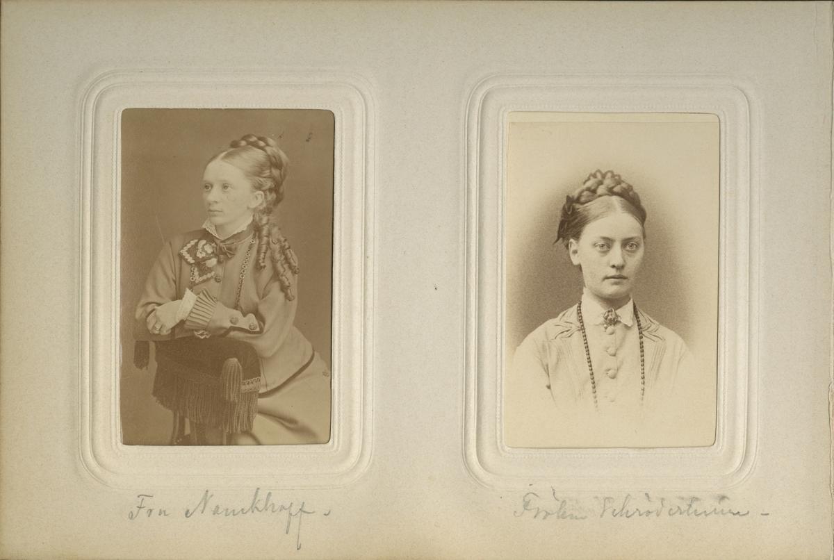 Porträtt av fru Nauckhoff.