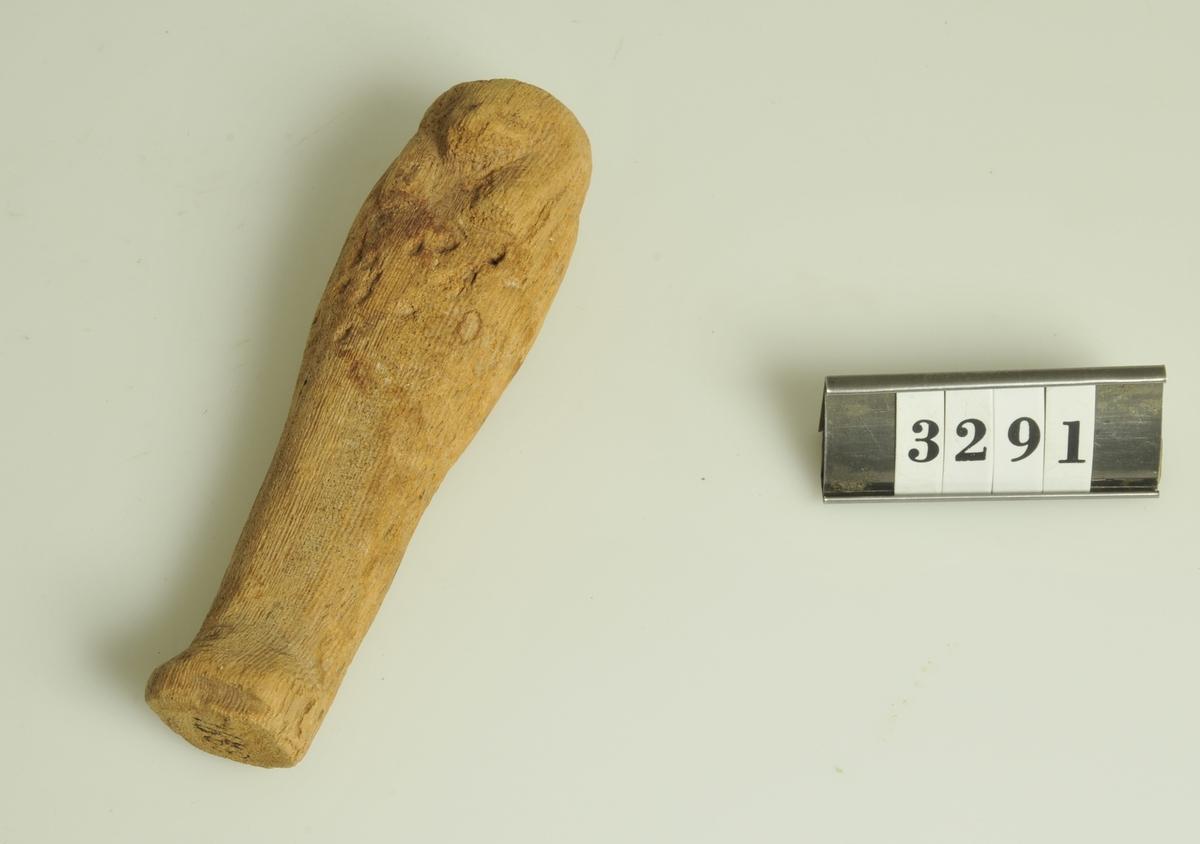 Gravfynd.  Har tillhört de Adelsköldska samlingarna.