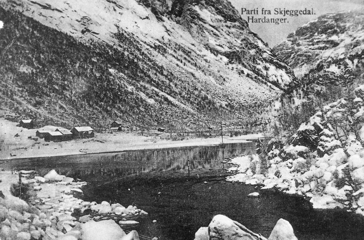 Postkort, Skjeggedal