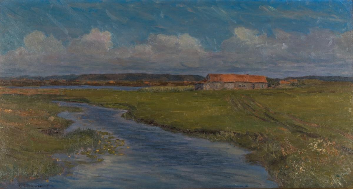 Jærlandskap med gård