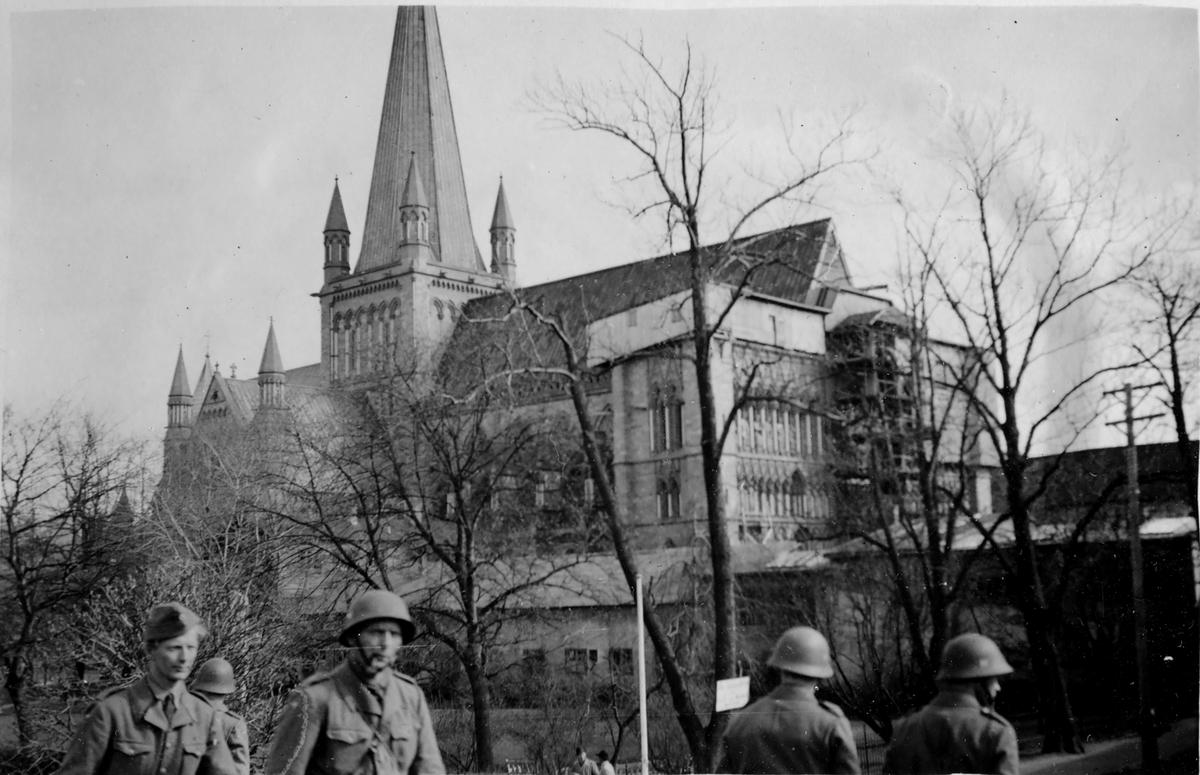 Norske politistyrker i Trondheim,mai 1945