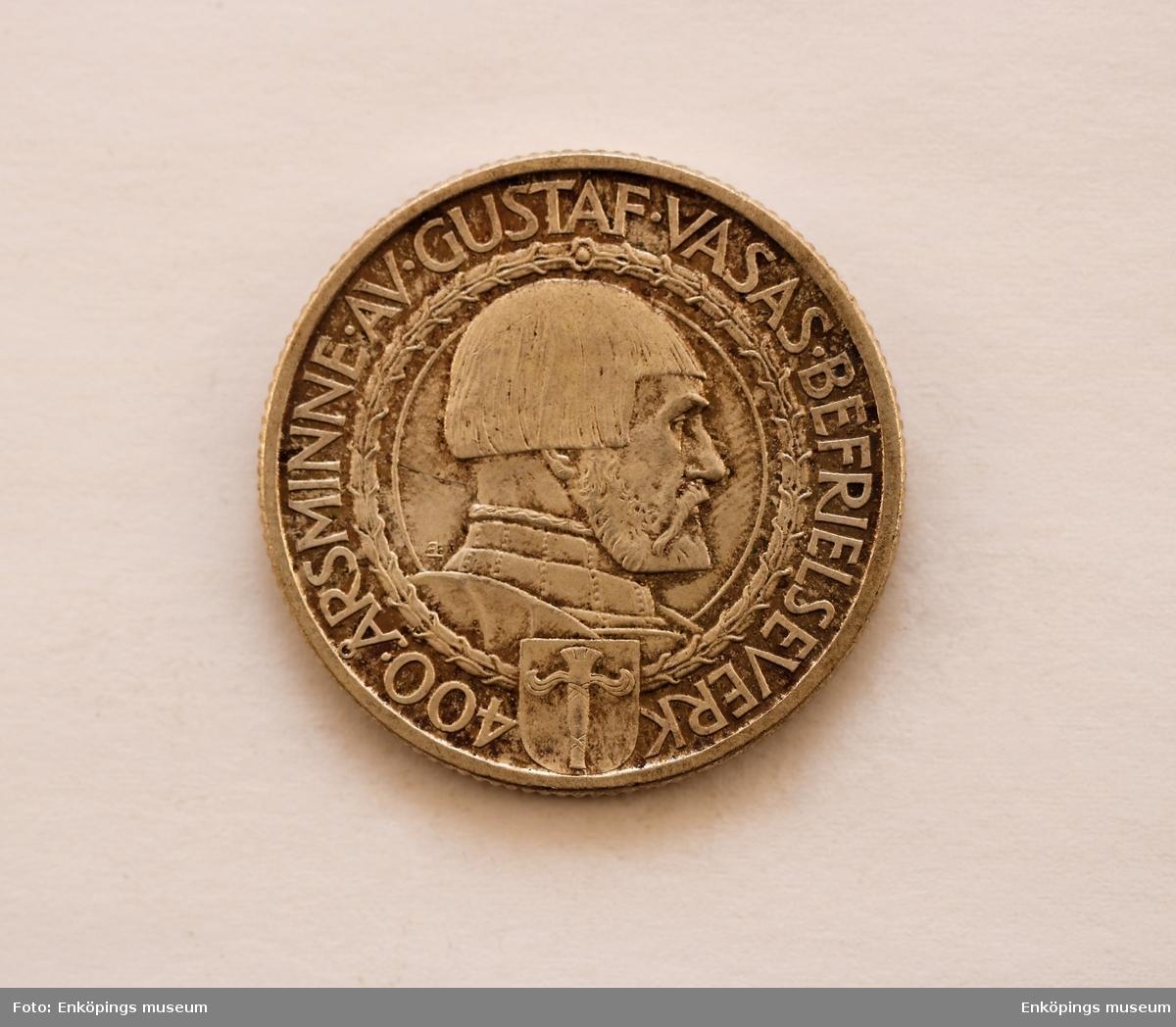 Typ II, 400-årsminnet av Gustav Vasas befrielseverk.