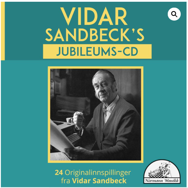 CD nr. 6 Vidar Sandbeck's jubileums-CD