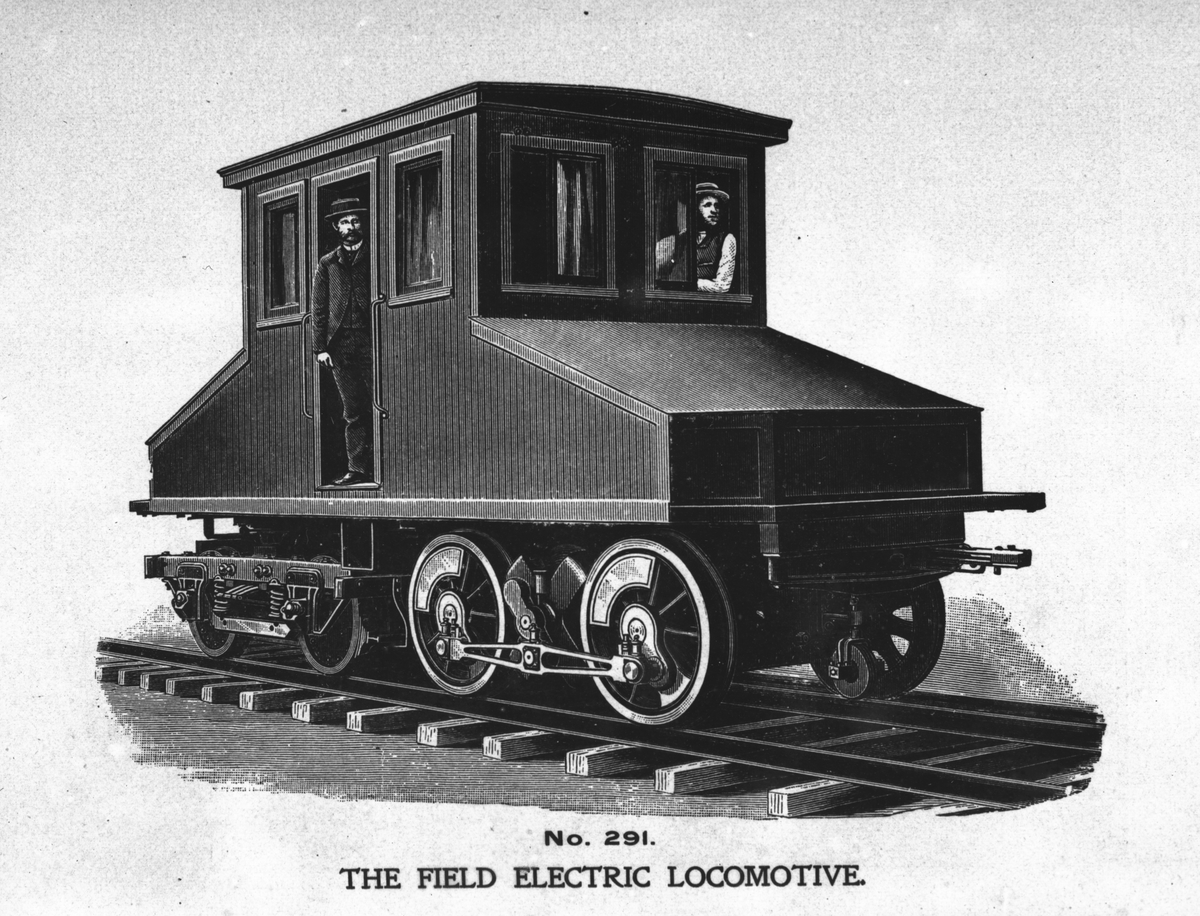 Field electric locomotiv