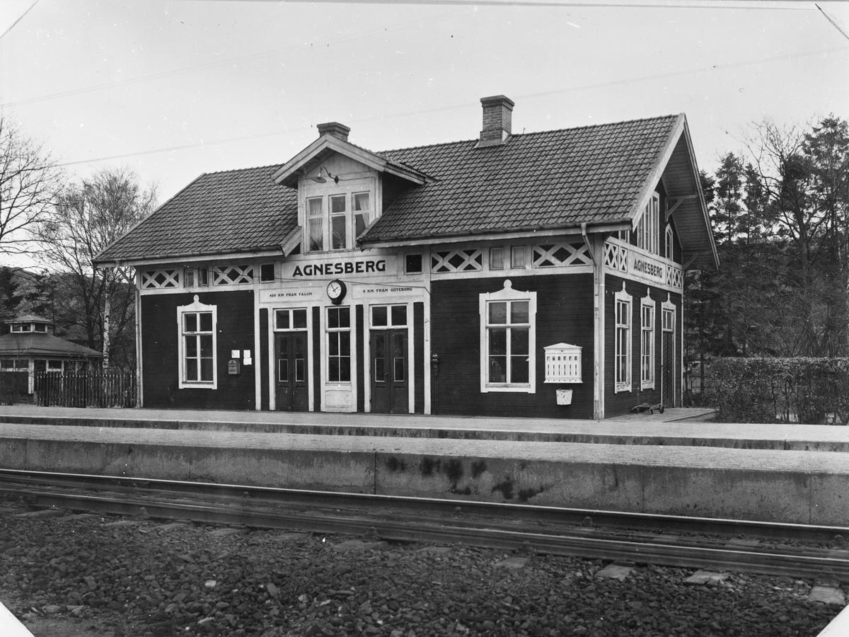 Agnesberg järnvägsstation